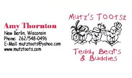Mutz's Tootsz by Amy Thornton