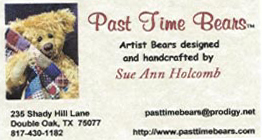 Past Time Bears by Sue Ann Holcomb