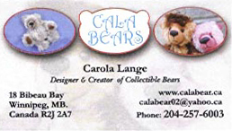 Cala Bears by Carola Lange