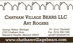 Chatham Village Bears by Art Rogers