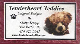 Tenderheart Teddies by Cathy Knapp