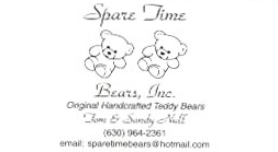 Email Spare Time Bears by Sandy Null