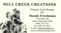 Mill Creek Creations by Rosalie Frischmann