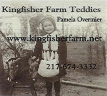 Kingfisher Farm Teddies by Pamela Overmier