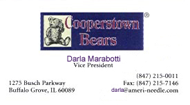 Darla Marabotti at Cooperstown Bears