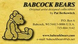 Babcock Bears by Pat Berkowitch