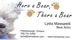 Here a Bear, There a Bear by Lydia Massarelli