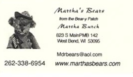 Martha's Bears by Martha Burch