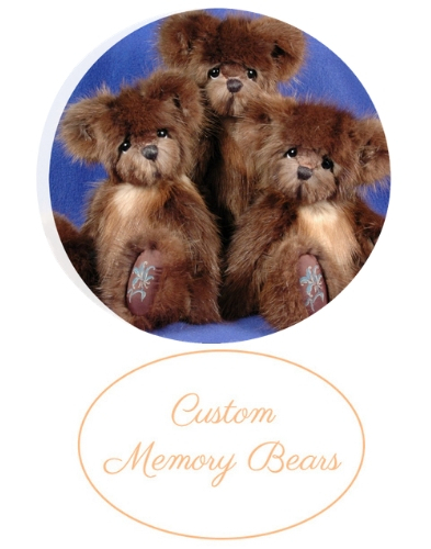 Custom Memory Bears from Your Loved Ones Fur Coat or other Clothing