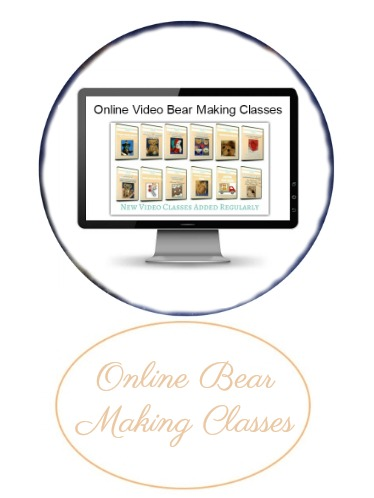 Online Teddy Bear Making Workshops, Classes & Tutorials